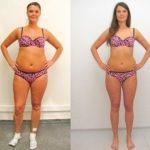 До и после диеты на грече