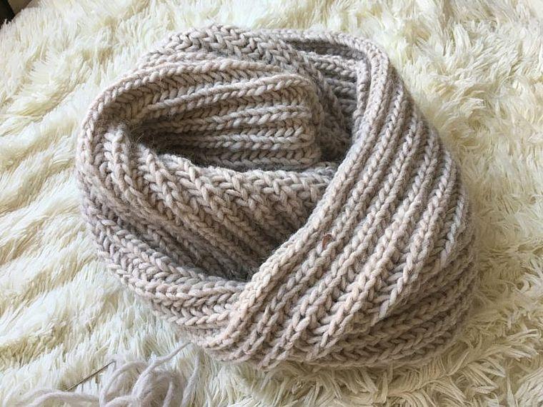 шарф-хомут для мальчика