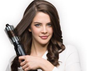 Укладка брашингом на средние волосы