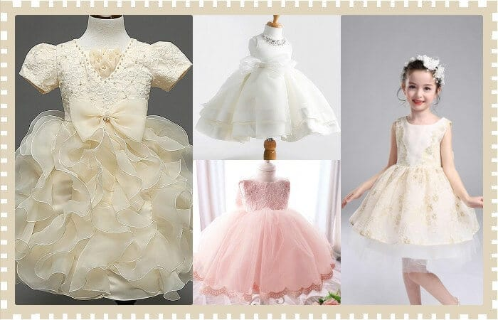 Пышное классическое платье