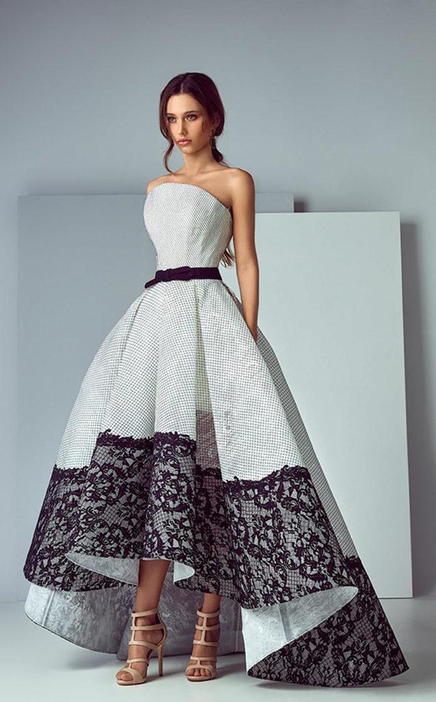 Платье маллет