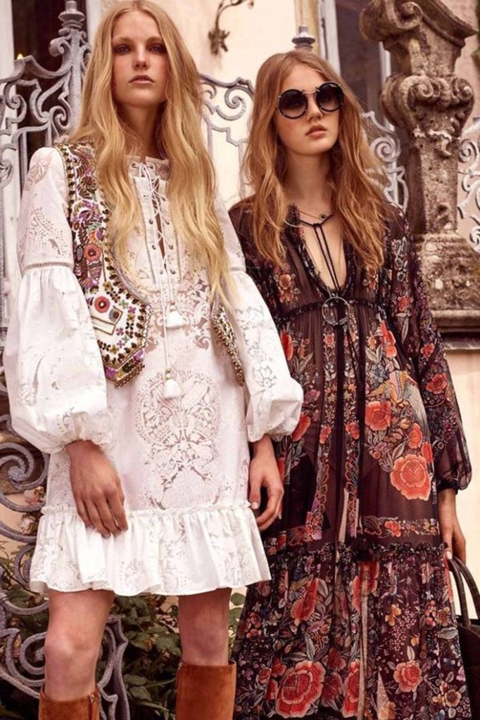 Этно-стиль в платьях